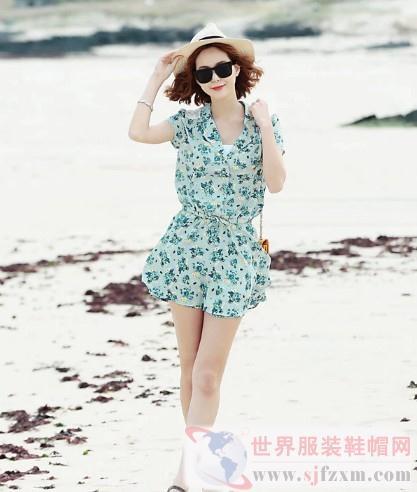 欧尚乐品女装 时尚简约的蕾丝元素夏日美丽绽放