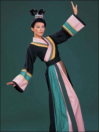 中国古代服饰 魏晋南北朝的服饰图片