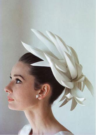 欧式女人复古装扮带帽子