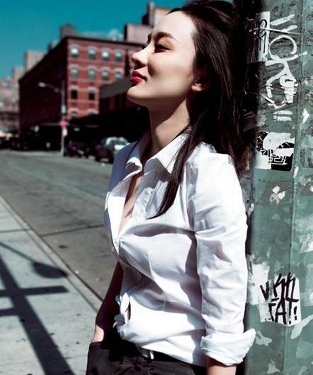 霍思燕登杂志封面 纽约绽放摩登魅力-世界服装鞋帽网