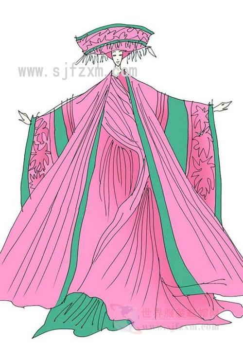 戏剧服装设计手绘效果图分享展示