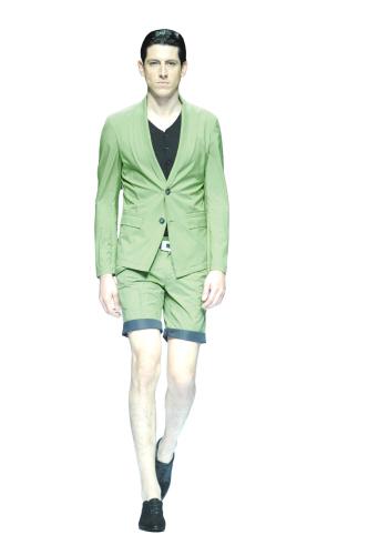 中國國際時裝周設計師劉小飛發布2013/2014男裝秀