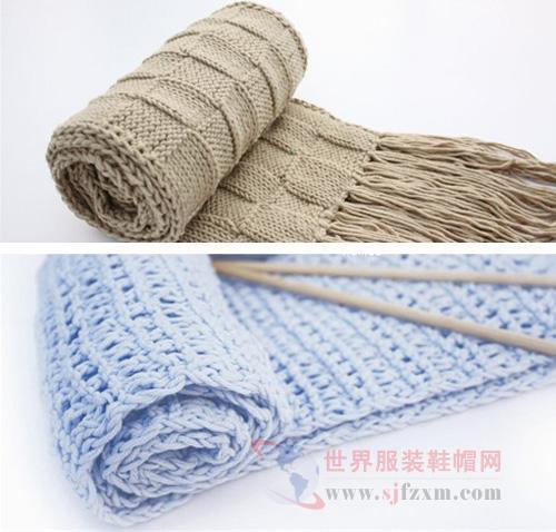 圖解時尚圍巾的織法