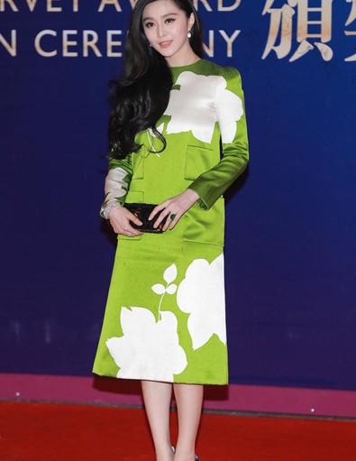 范冰冰演绎时尚裙装 高端大气上档次