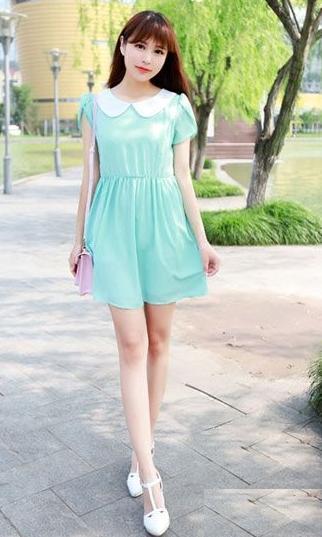 夏季新潮连衣裙款式 出门成为街头焦点