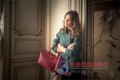 alexa chung代言longchamp 2014秋冬系列广告大片